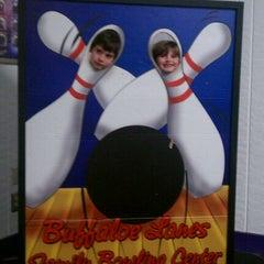Photo taken at Buffaloe Lanes South Bowling Center by Michael B. on 3/4/2012