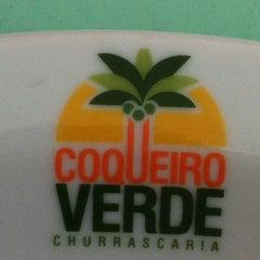 Photo taken at Churrascaria Coqueiro Verde by Marilia M. on 7/25/2012