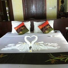 Photo taken at Koh Mook Sivalai Beach Resort by Kate C. on 4/12/2012