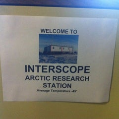 Photo taken at IGArcticStation by Carl R. on 5/11/2011