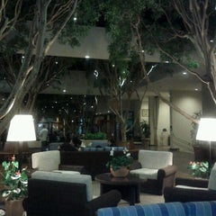 Photo taken at Portola Hotel & Spa by Tommy K. on 9/15/2011