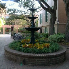 Photo taken at Cougar Mall, College of Charleston by VC S. on 10/27/2011