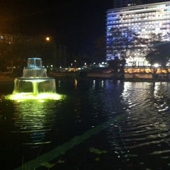 Photo taken at Rabin Square (כיכר רבין) by n0nick on 1/6/2011