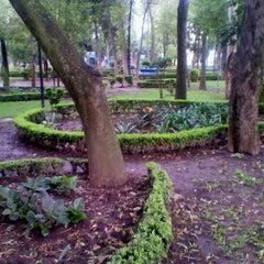 Photo taken at Parque Arboledas by SLeon on 8/26/2012