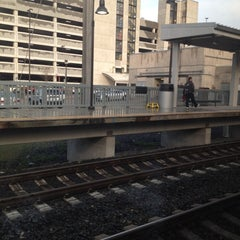 Photo taken at BWI Amtrak/MARC Rail Station (BWI) by Frank on 4/23/2012