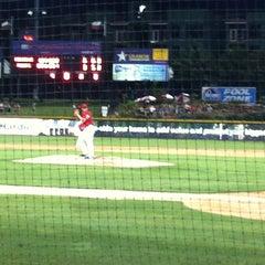 Photo taken at Dr Pepper Ballpark by Manuel L. on 7/17/2012