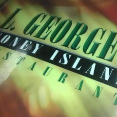 Photo taken at L. George's Coney Island by J S. on 1/22/2012