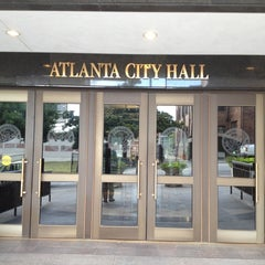 Photo taken at Atlanta City Hall by Allie B. on 6/20/2012