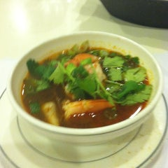 Photo taken at Bangkok Cuisine by Chad F. on 1/24/2012