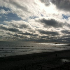Photo taken at Scarborough State Beach by Paula C. on 1/19/2012