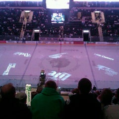 Photo taken at Ralph Engelstad Arena by Mike M. on 1/14/2012