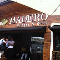 Photo taken at Madero Burger & Grill by Priscilla R. on 2/12/2011