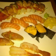 Photo taken at Fusion Sushi by Michael L. on 8/7/2012