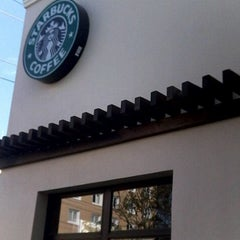 Photo taken at Starbucks Santa Elena by Alex d. on 3/17/2012