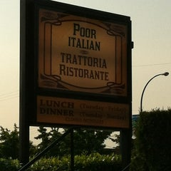 Photo taken at Poor Italian Trattoria by Fabio R. on 7/7/2012