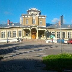 Photo taken at Tartu Raudteejaam by Birgit T. on 7/17/2012