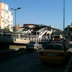 Photo taken at İzban Bayraklı İstasyonu by Bartu A. on 10/6/2011