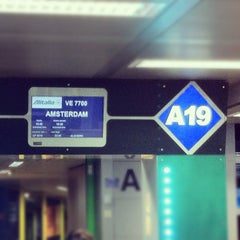 Photo taken at Gate A19 by Eugenio A. on 11/6/2011