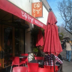 Photo taken at Café Rouge by Ward D. on 2/20/2012