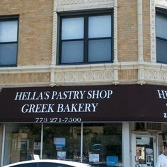 Photo taken at Hellas Pastry Shop by Arne A. on 8/18/2012