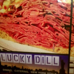 Photo taken at Lucky Dill Deli by Xquizit D. on 9/3/2011