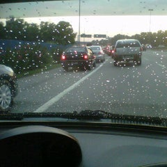 Photo taken at Kesas Exit 511B to Puchong by Helmi H. on 1/30/2012