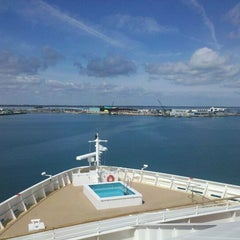 Photo taken at Port Canaveral by Shelly K. on 2/21/2012