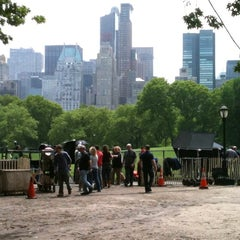 Photo taken at Sheep Meadow by Tokuyuki K. on 5/19/2011