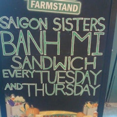 Photo taken at Chicago's Downtown Farmstand by Aaron J. on 11/2/2011