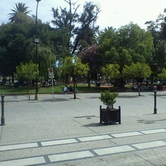Photo taken at Plaza 9 de Julio by Luciano S. on 1/25/2012