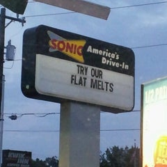 Photo taken at SONIC Drive In by Amber H. on 6/11/2012