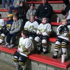 Photo taken at Richfield Ice Arena by Jason B. on 12/21/2011