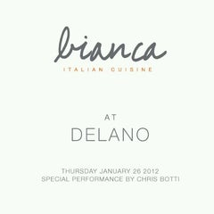 Photo taken at Bianca at Delano by @Ijust_lovethis on 1/27/2012