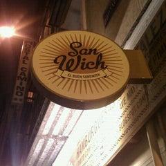 Photo taken at San Wich by Mr. Walker on 11/9/2011