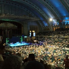 Photo taken at Boardwalk Hall by RJ P. on 8/5/2012