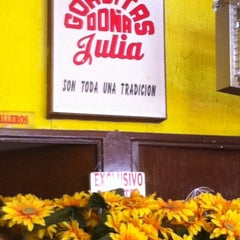 Photo taken at Gorditas Doña Julia by Ivan C. on 3/2/2012