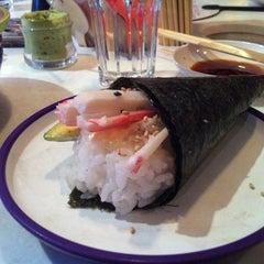 Photo taken at YO! Sushi by Teresa R. on 8/17/2012