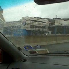 Photo taken at New England Thruway Toll Plaza by Zato I. on 10/21/2011