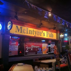 Photo taken at McIntyre's Pub by Kimberlee B. on 9/27/2011