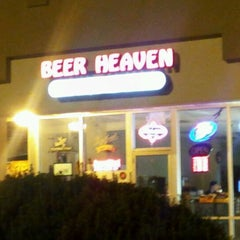 Photo taken at Beer Heaven by Jessica M. on 6/6/2012