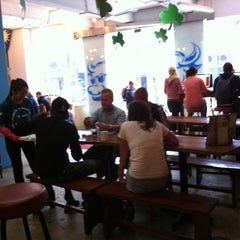 Photo taken at Hanoi Backpackers Hostel by Macarena A. on 3/17/2012