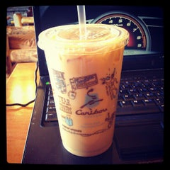 Photo taken at Caribou Coffee by Ray F. on 4/26/2012