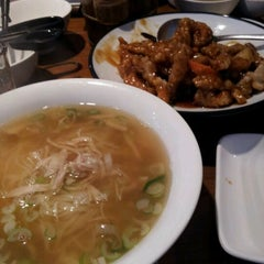 Photo taken at Congee GoGo (칸지고고) by Kelly K. on 3/15/2012