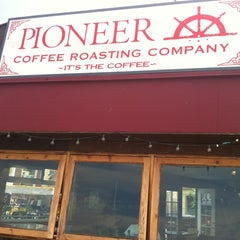 Photo taken at Pioneer Coffee by Eileen L. on 7/13/2012