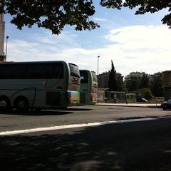 Photo taken at Estación de Autobuses de Donostia/San Sebastián by Laura O. on 5/29/2011