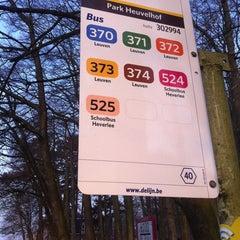 Photo taken at Halte Park Heuvelhof by Matthias V. on 3/25/2011