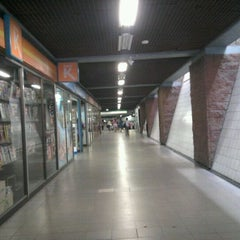 Photo taken at Metro Irarrázaval by Carito M. on 12/4/2011