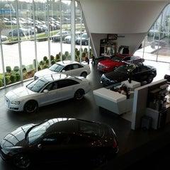 Photo taken at Audi Wilsonville by Tom S. on 3/9/2012
