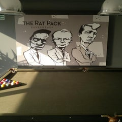 Photo taken at The Rat Pack Barbershop by Ore on 1/16/2012