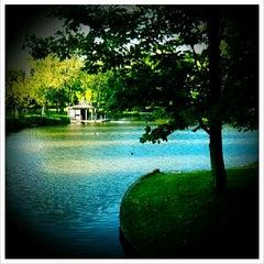 Photo taken at Maria Hendrikapark by Lien B. on 5/25/2012